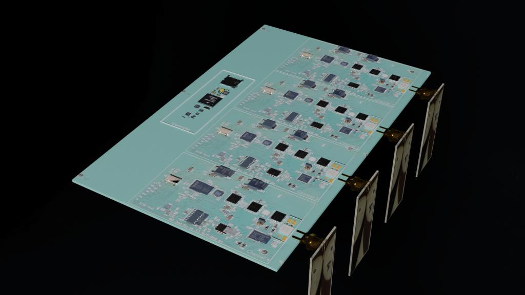 4 Channel Reciever Board Draft 3