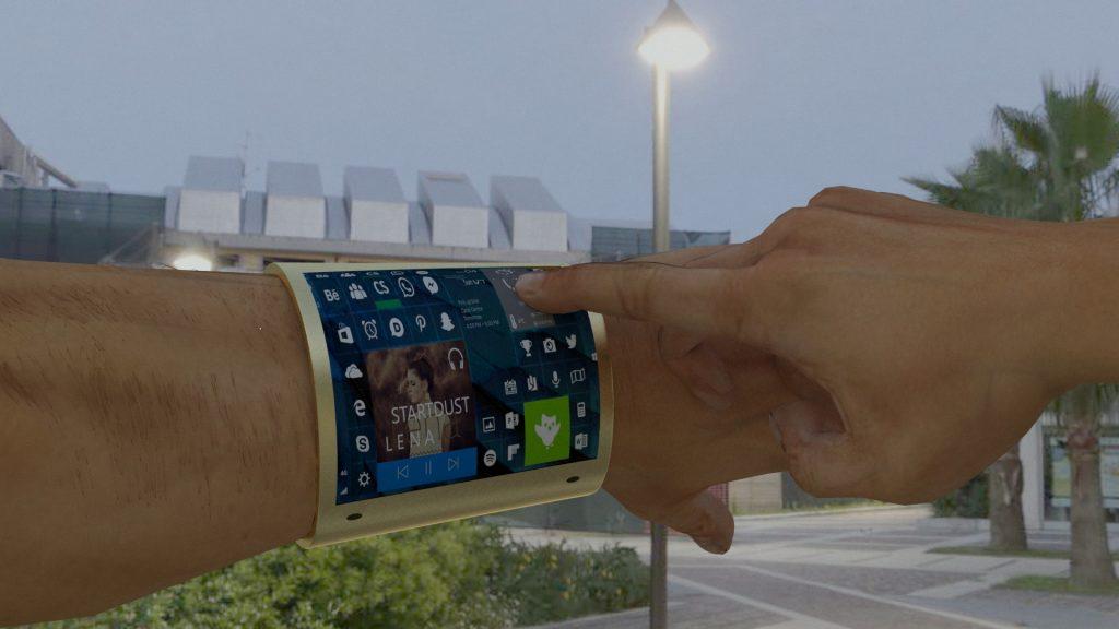 Arm Based Cell Phone Idea