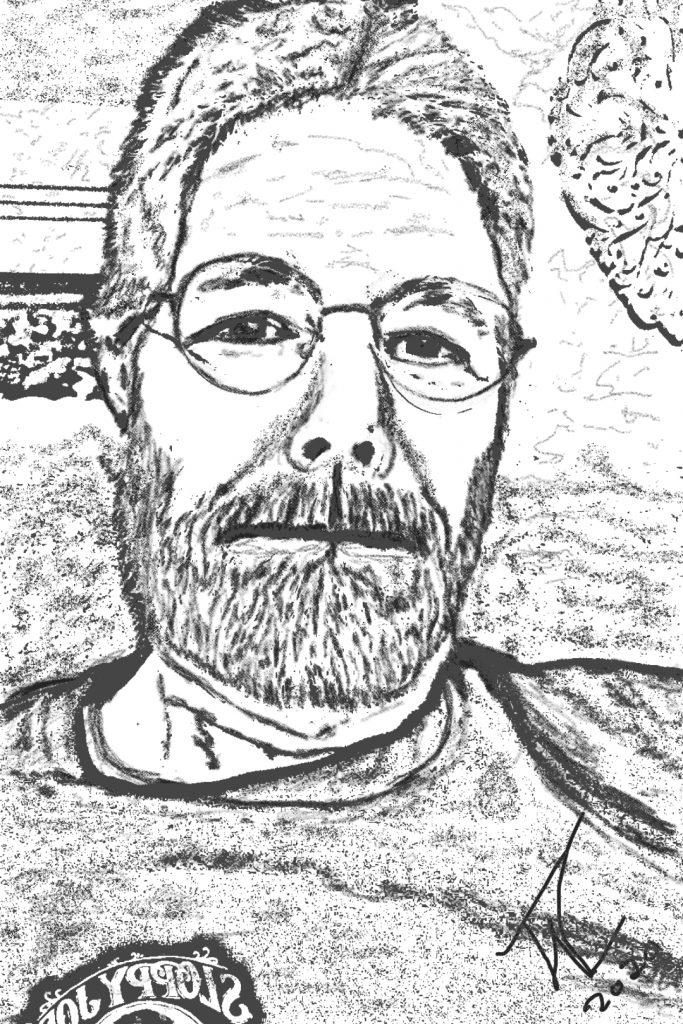 Tom Loker Self Portrait