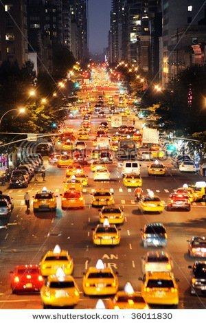 A New York Traffic Jam Image